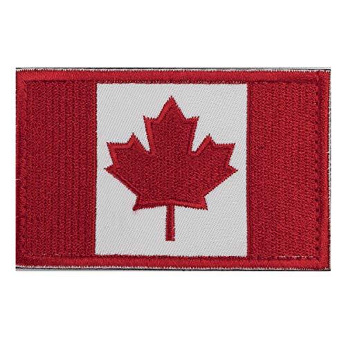 Xidan Parche de bandera táctica - Canadá