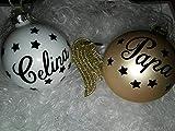 Weihnachtskugeln Personalisiert