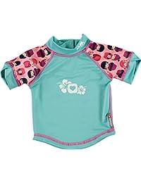 Close Parent 25891 - Camiseta de baño con protección UV, diseño Kokeshi Doll, talla XL (24-36 meses), color rosa