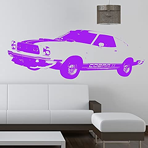FORD MUSTANG CAR WALL STICKER...Stickers muraux / stickers muraux de