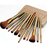 Inglis Lady A 12 In 1 Make Up Brush Set Of Laxurious Brand For Smooth And Shiny Make Up Proffestional Choice Home...