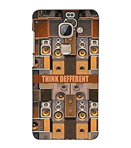 Fuson Designer Back Case Cover for LeEco Le Max 2 :: LeTV Max 2 (Sounds and speaker theme)