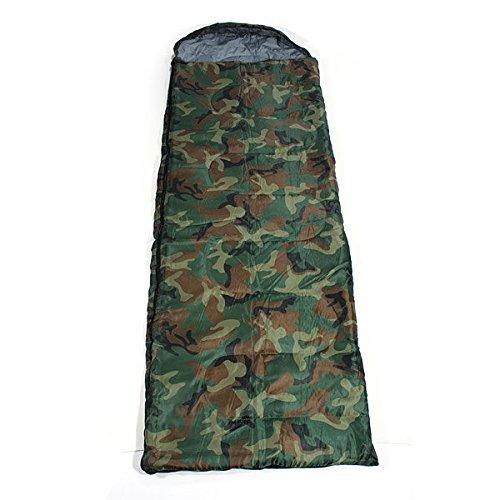Bazaar De plein air sacs de couchage de camping sac de Voyage épaisse capuche camouflage