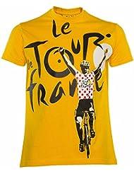 T-shirt Le Tour de France de cyclisme - Collection officielle - Taille Enfant