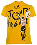 Il Giro di Francia di Ciclismo-Maglietta Collezione Ufficiale-Taglia Bambino, Giallo, 24 Mesi