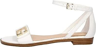 Guess Scarpe Sandalo Basso Modello Rashida Pelle Colore Nero Donna DS20GU40