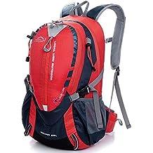 ERWAA 25L Mochilas de Senderismo Deportes al Aire Libre Multifunción Bolsa Impermeable Excursionismo Alpinismo Trekking Viajes