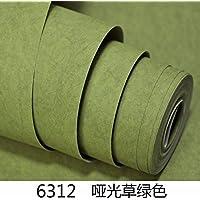 Maivasyy Pegatinas de pared Liso seda mate pegatinas de pared Dormitorio caliente niñas Tabla alacena renovación papel tapiz