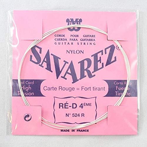 Savarez Cuerdas para Guitarra Clásica Traditional Concert 524R cuerda suelta Re4w standard, adecuado para juego 520F, 520P, 520R, 520P1, 520P3