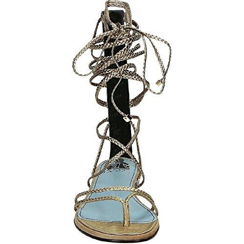 Sandali alla schiava Lanvin in Pelle di vitello oro - Codice modello: FWSHCT1CGAXYE16 Oro