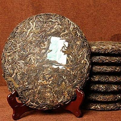 357g (0.787lb) Thé brut Yunnan Pu-erh Arbres anciens Thé ancien Puer Thé noir Thé rouge Thé Pu-erh Thé Pu'er Gâteaux au thé Puerh Thé vert Thé chinois Thé au thé Vieux thé Pu erh