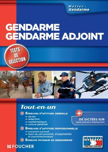Gendarme - Gendarme Adjoint Tests de sélection