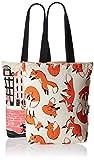 Kanvas Katha Women's Combo Tote Bag (Pack of 2) (Off-White) (KKCAMZOCT011-KKCAMZOCT012)