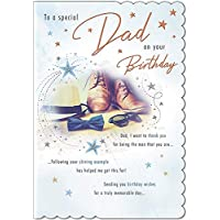 With Love - to A Special Dad, Shoes, Hat and Dicky Bow - Birthday Card