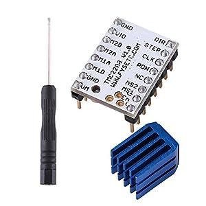 TMC2208 Schrittmotor Treiber Modul Speed Driver Modul Controller mit Kühlkörper für 3D-Drucker-Teil