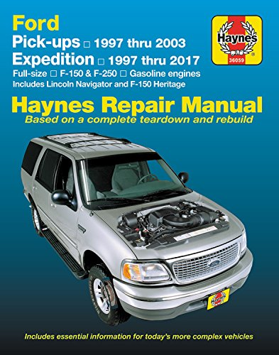 Ford Full-Size F-150 & F-250 Pick-Ups, '97-'03 & Expedition (Hayne's Automotive Repair Manual)