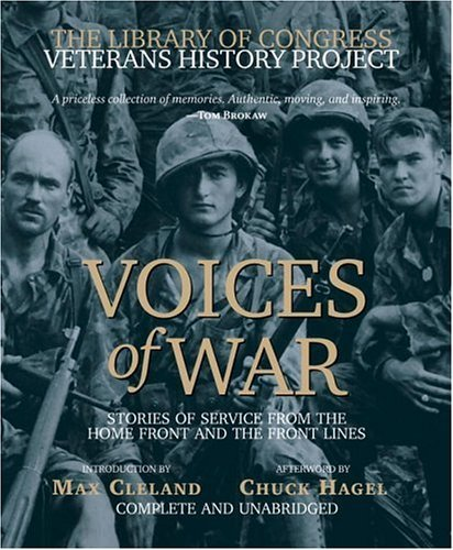 voices-of-war-compact-disk-stories-of-service-from-the-homefront-and-the-frontlines-the-library-of-c