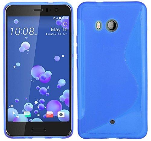 S-case per HTC U11 tutti colori - blu
