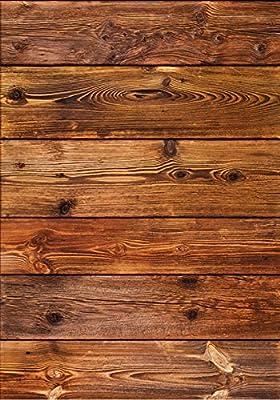 """""""Holz"""" Küchen-Deko Küchennische : Schmutzresistent abwaschbar mit Erweiterung Foto-Tapete Wand-Deko Wand-Bild Wand-Tattoo Wand-Sticker"""