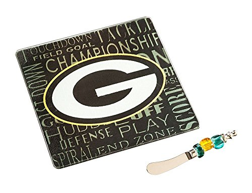Evergreen Scientific NFL IT 'S A Party Geschenk Set NFL Team: Green Bay Packers College Green Teller
