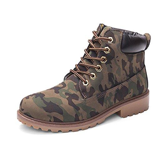 Women Martin Boots Shoes, SOMESUN Delle signore delle donne Faux Stivaletti Stivali Casual Shoes Martin camouflage