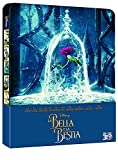 Beauty and The Beast 2017 Steelbook 3D Includes 2D Version Exclusive Limited Edition Steelbook Blu-ray Region free (Import)