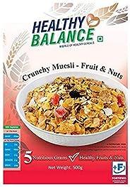 Healthy Balance Crunchy Muesli - Fruits & Nuts 5