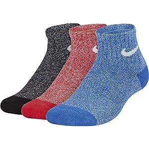 Nike Y NK EVRY CUSH AKL 3PR – Marl – Socken, Unisex Kinder