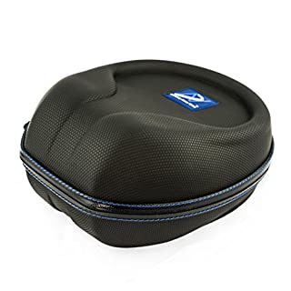 AHG Upgrade carrying case for Turtle Beach Atlas Three Elite 800/800X XO Seven XO Four Ear Force Stealth 520 700 600 420X 450 500X 500P headphones and more (GRIP-TECH Black)