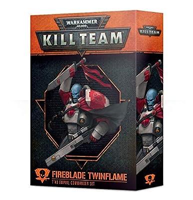 Warhammer 40k Fireblade Twinflame T'au Empire Commander Set (Italian)