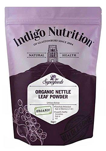 Indigo Herbs BIO Brennnessel Blattpulver 1kg