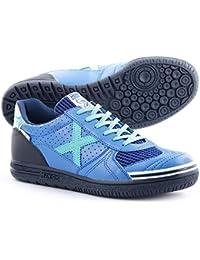 Munich G 3 Classic - Zapatillas unisex, color azul / negro / celeste, talla 44