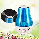 3L Große Ultraschall Zerstäuber Kapazität Doppel Spray Haushalt Luftdiffusor Luftreiniger Luftbefeuchter Diffusor Luftreiniger Mit LED-Licht