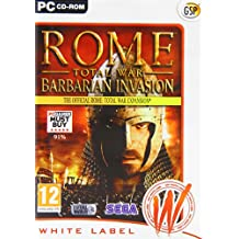 Rome Total War: Barbarian Invasion - Official Expansion Pack (PC CD) [Importación inglesa]