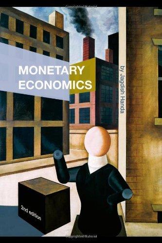 Monetary Economics by Jagdish Handa (2008-10-29)