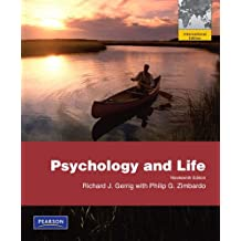 Psychology and Life. Richard Gerrig