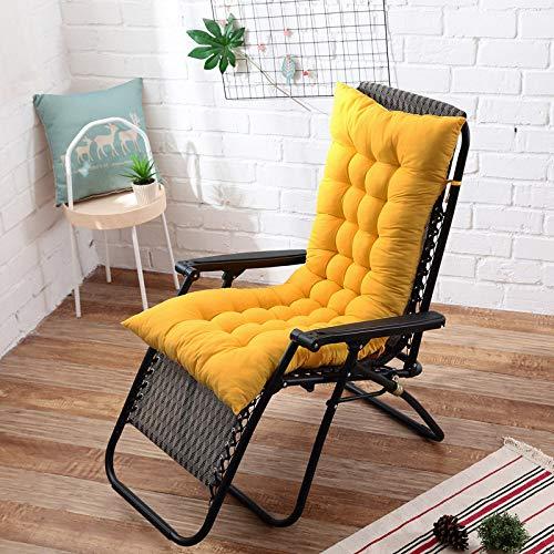 MATBC 48X155Cm Cuscini Reclinabili con Schienale Morbido Cuscini per Sedie A Dondolo Lettino Cuscino per Panca Cuscino per Sedia da Giardino Cuscino