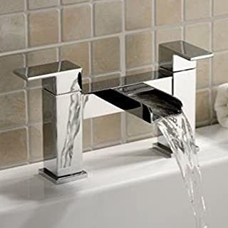 Alfred Victoria Modern Bath Brass Filler Tap ZB03 - Chrome Finish