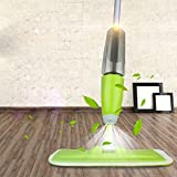 #2: Vivir® Quick And Easy 360 degree Instant Floor Cleaning Spray Mop (Green)