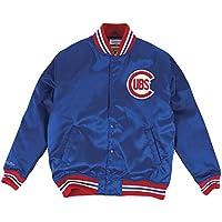 "Chicago Cubs Mitchell & Ness MLB ""History"" Premium Satin Jacket"