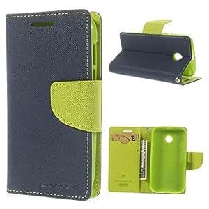 Mercury Goospery Flip Wallet Case Cover for Google Nexus 6 - Blue/Green