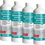 4 x HOTREGA Terrassenplatten-Schonreiniger 1000ml Flasche