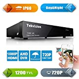 Tekvision® Security System 8CH DVR Indoor/Outdoor Day/Night (DVR only, HDD not included)