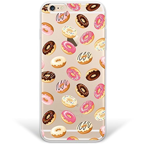 blitzversand Handyhülle Fussball Football kompatibel für iPhone 5 C Many Donuts Schutz Hülle Case Bumper transparent M12 (Phone Basketball C 5 I)
