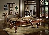Pool Billardtisch Arizona 8ft 224 x 112 cm mit Schieferplatte inkl. Montage und Zubehörset von John West Billard