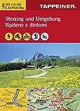 KOKA124 Kombinierte Wanderkarte Sterzing und Umgebung - GPS kompatibel - Maßstab 1:25.000 (Kombinierte Sommer-Wanderkarten Südtirol)...