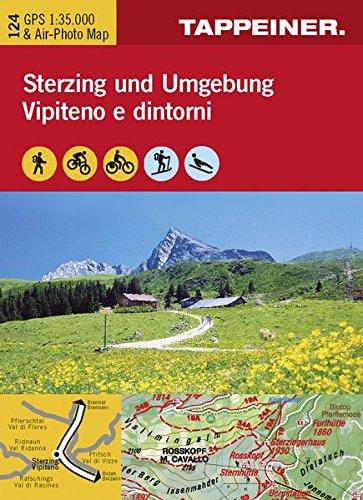 KOKA124 Kombinierte Wanderkarte Sterzing und Umgebung - GPS kompatibel - Maßstab 1:25.000 (Kombinierte Sommer-Wanderkarten Südtirol) par Tappeiner