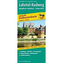Lahntal-Radweg, Netphen-Lahnhof - Lahnstein: Leporello Radtourenkarte mit Ausflugszielen, Einkehr- & Freizeittipps, wetterfest, reissfest, abwischbar. 1:50000 (Leporello Radtourenkarte/LEP-RK)