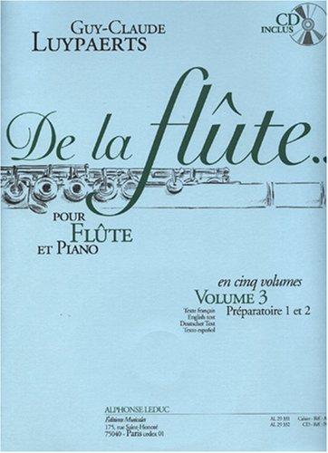 Guy-Claude Luypaerts: de la Flûte Vol.3...