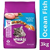 #7: Whiskas Dry Cat Food, Ocean Fish for Adult cats, 3 kg